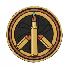 Патч Maxpedition Peace Bullet Morale Patch Arid (PCBTA)